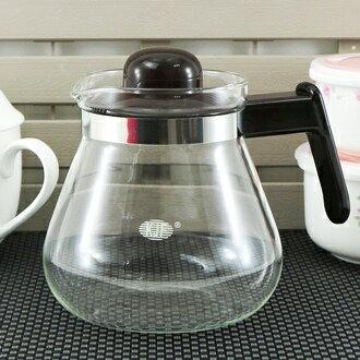 【珍昕】 武士耐熱玻璃壺~(1000ml) 可直火瓦斯爐適用