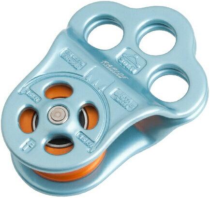DMM Rapide 三孔分力盤滑輪 PUL100RAPIDE 藍