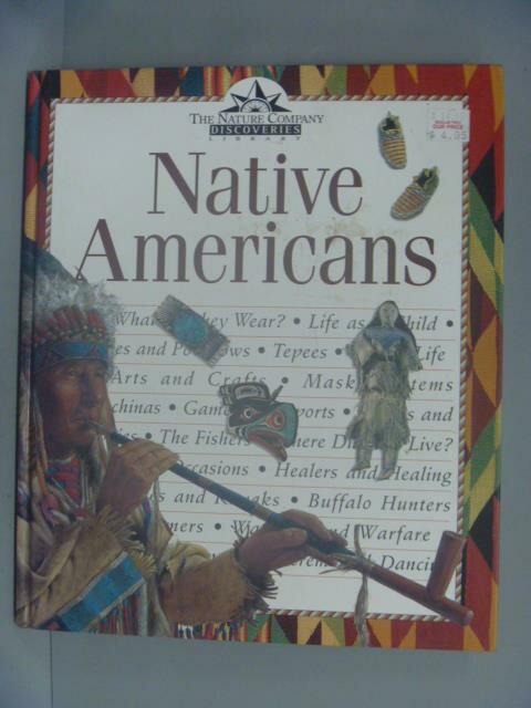 ~書寶 書T5/兒童文學_XAY~Native Americans_Judith Simp