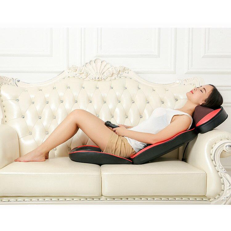 全自動小型電動按摩椅家用全身按摩墊腰部背部頸椎按摩器老人椅子 5