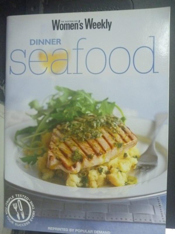 【書寶二手書T6/餐飲_ZIM】Dinner Seafood