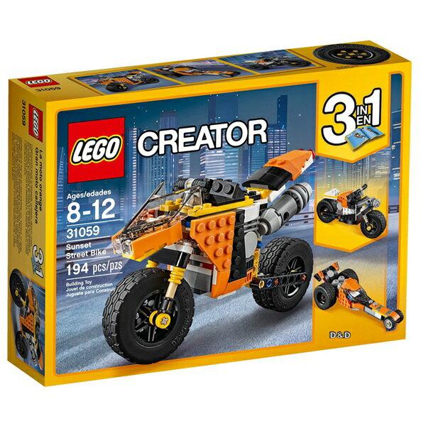 樂高積木LEGO《 LT31059 》2017年Creator 創意大師系列 - 落日街頭重機
