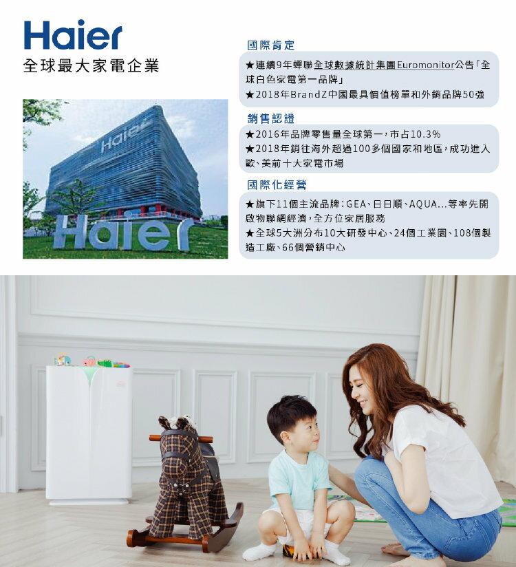 【Haier 海爾】醛效抗敏大H空氣清淨機 AP450 抗PM2.5  /  除甲醛(加碼送專屬濾網) 1