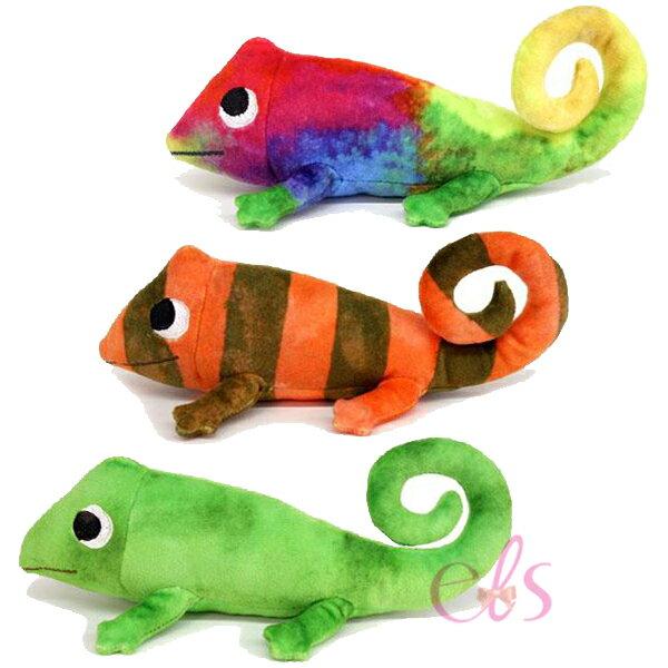荷蘭繪本作家 LEO LIONNI 自己的顏色 變色龍玩偶 三款供選 ☆艾莉莎ELS☆