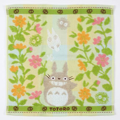 【百倉日本舖】日本製 龍貓TOTORO方巾-花園/洗臉巾