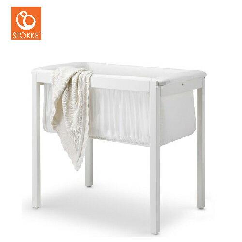 挪威【Stokke】Home 嬰兒搖床(純白 / 深灰) 0