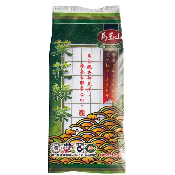【馬玉山】茉花綠茶40公克x2入(免濾茶包)