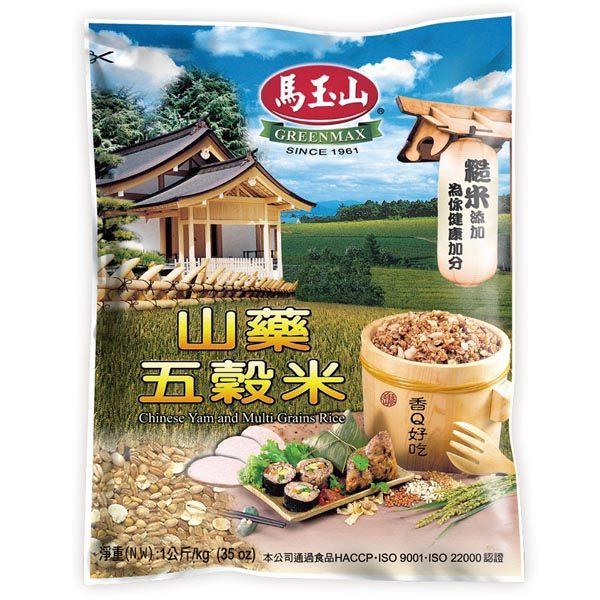 【馬玉山】山藥五穀米1000g