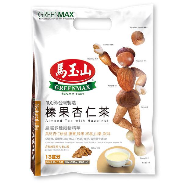 【馬玉山】榛果杏仁茶(13入)