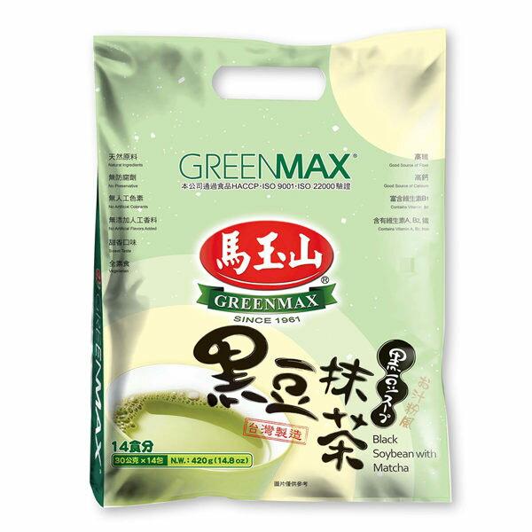 【馬玉山】黑豆抹茶(14入)▶全館滿499免運