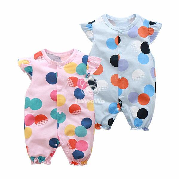 嬰兒短袖兔裝  寶寶連身裝 嬰幼兒童裝 CAB22330 好娃娃