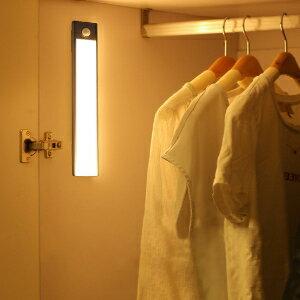 美麗大街【109051493】超薄led人體感應櫥櫃燈衣櫃燈usb充電led感應小夜燈