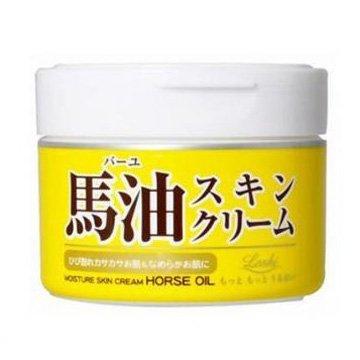 免運費!【馬油Loshi】日本北海道修護乾燥肌膚馬油保濕乳霜-220g 不黏膩 天然 好吸收 縮小毛孔 調理 日本原裝