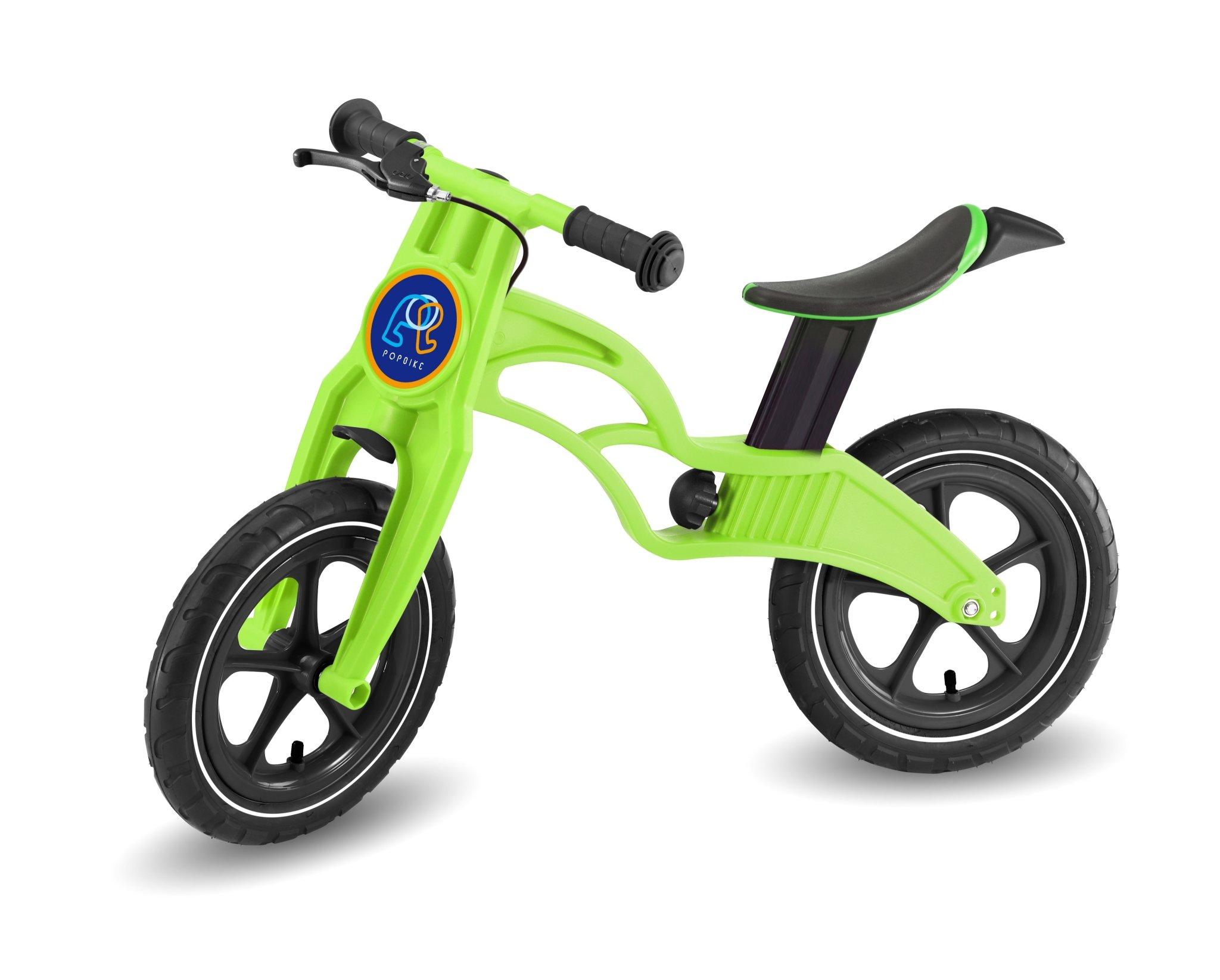 Pop Bike 兒童滑步車 / 平衡車 / 學步車 /  - 煞車版 氣胎 綠色 - 限時優惠好康折扣