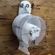 618大促 衛生間紙巾盒吸盤廁紙盒免打孔吸壁式卷紙筒創意防水廁所衛生紙架【櫻花本鋪】