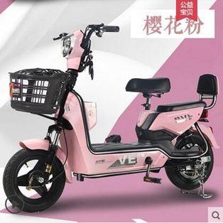 電動車 加州豹電動車新國標電瓶48V小型代步助力電單車女成人電動自行車