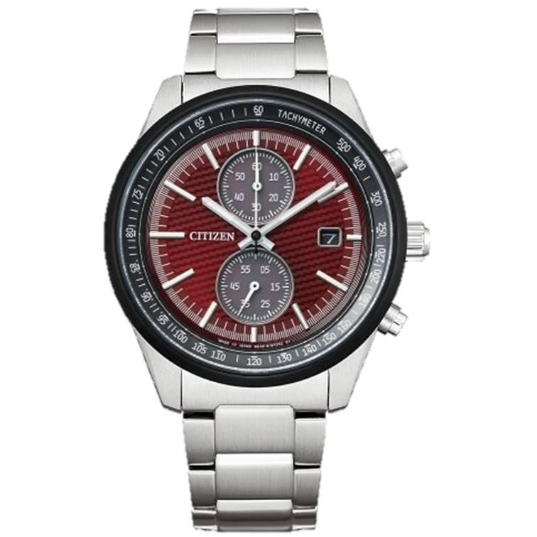 CITIZEN 星辰 CA7034-96W Eco-Drive光動能計時碼錶腕錶