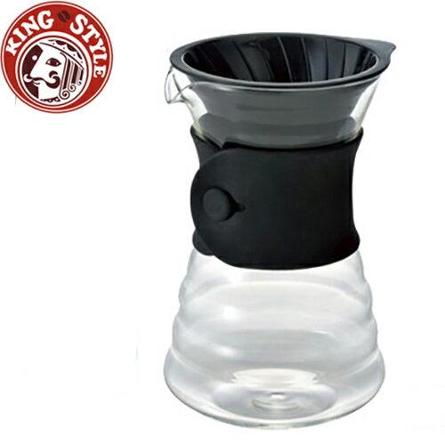 金時代書香咖啡 HARIO 品味咖啡玻璃手沖壺組700ml-1~4杯份/VDD-02B