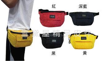 ~雪黛屋~YESON 腰包小容量隨身物品台灣製造高品質YKK拉鍊零件高單數防水尼龍布腰包肩背斜側Y5730