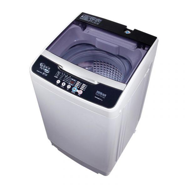 【禾聯家電】 6.5KG全自動洗衣機 白金級不鏽鋼內槽/3D強勁水流/FUZZY人工智慧/脫水防震系統/脫水風乾功能