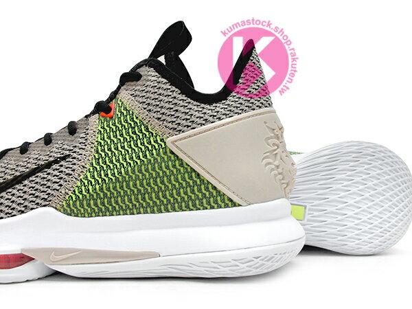 2019 NBA 小皇帝 JAMES 平價版子系列代言鞋款 NIKE LEBRON WITNESS IV 4 EP 淺卡其黑 螢光綠 前掌 ZOOM AIR 氣墊 耐磨橡膠底 (CD0188-200) 1019 3