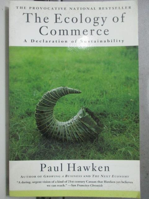 ~書寶 書T6/原文小說_HPN~The ecology of commerce:a de