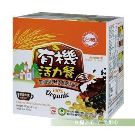 台糖 有機黑五寶穀粉(10包/盒)
