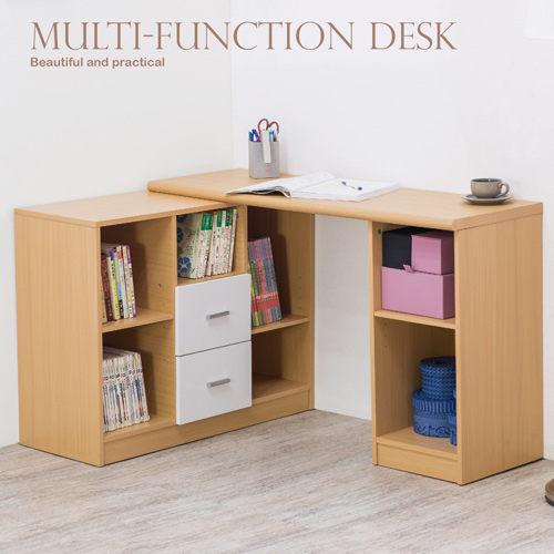 電腦桌 辦公桌 書桌【N0037】卡爾文多功能書桌 完美主義