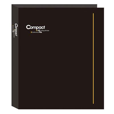 美加美 AO2070 COMPACT A4 3孔夾-黑 /個
