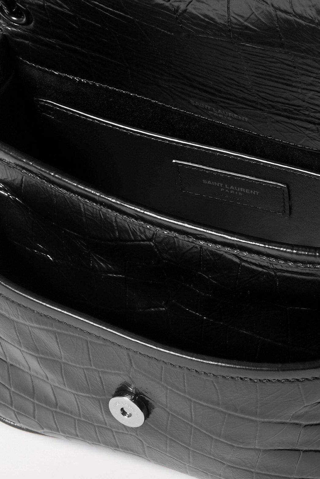 SAINT LAURENT YSL Niki mini鏈條側背包 尺寸17*17*23cm $ 私