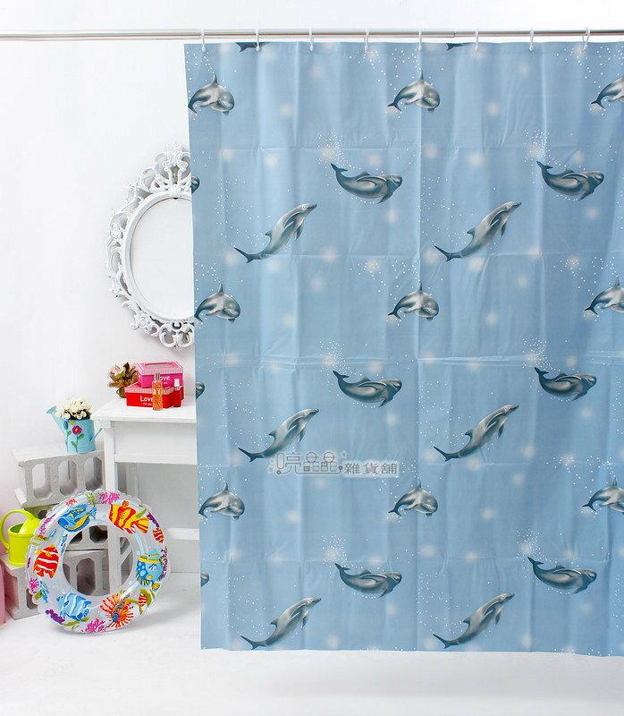 《喨晶晶生活工坊》日本訂單~3F210 135*180 PEVA浴簾 乾溼分離˙防水簾˙隔間簾