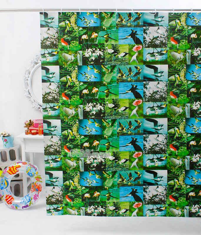 《喨晶晶生活工坊》台製 PEVA 防水浴簾˙隔間簾↘$120元、B044