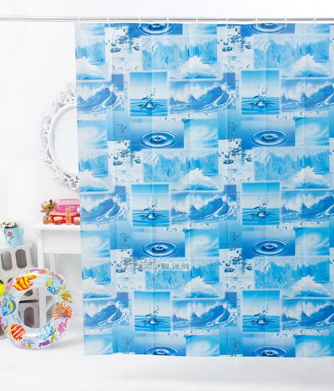 ~喨晶晶 工坊~MIT台製 PEVA 防水浴簾˙隔間簾、乾溼分離↘ 120元、180~18