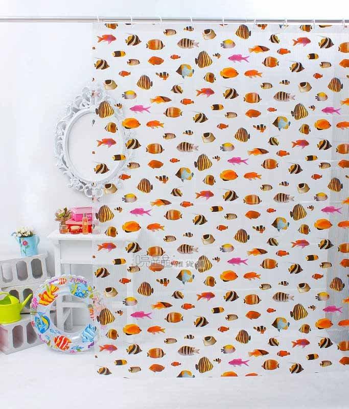 《喨晶晶生活工坊》台製 PEVA 防水浴簾˙隔間簾、乾溼分離↘$120元、M009-5C 180*180