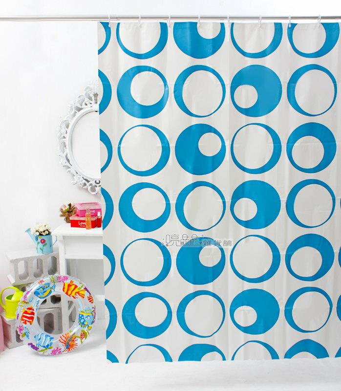 《喨晶晶生活工坊》日本訂單~PEVA浴簾 乾溼分離˙防水簾˙隔間簾 門簾、1F121 135*180