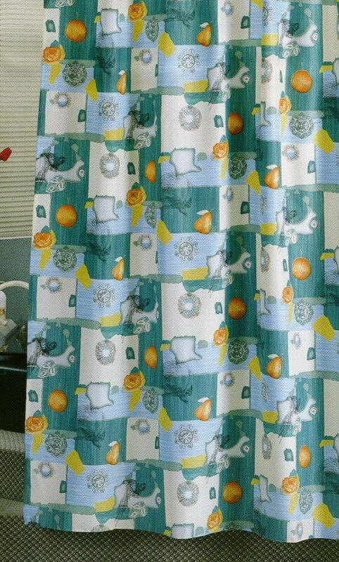 《喨晶晶生活工坊》台製 特多龍防水浴簾˙隔間簾、防止冷氣外洩 180*180、附掛鉤