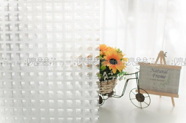 《喨晶晶生活工坊》台製 3D001 無背膠靜電貼.玻璃窗貼˙可重複使用、1捲$150元