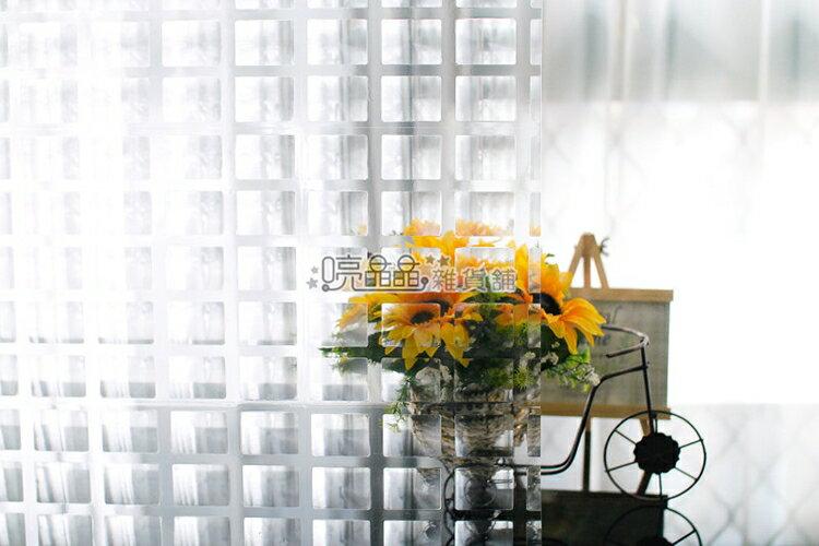 《喨晶晶生活工坊》台製 TV WALL EVA 靜電貼.玻璃窗貼˙可重複使用˙50*150cm