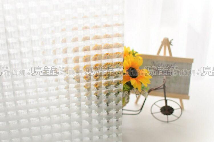 《喨晶晶生活工坊》台製 貓眼無背膠靜電貼.玻璃窗貼˙可重複使用˙50*150cm