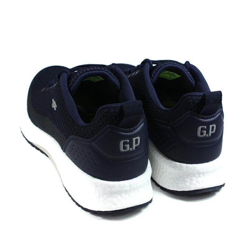 G.P 阿亮代言 休閒運動鞋 深藍色 針織 男鞋 P6945M-20 no468