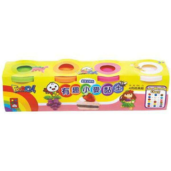 兒童黏土~手作黏土~有趣小麥黏土4色經典組(粉紅)~EMMA商城