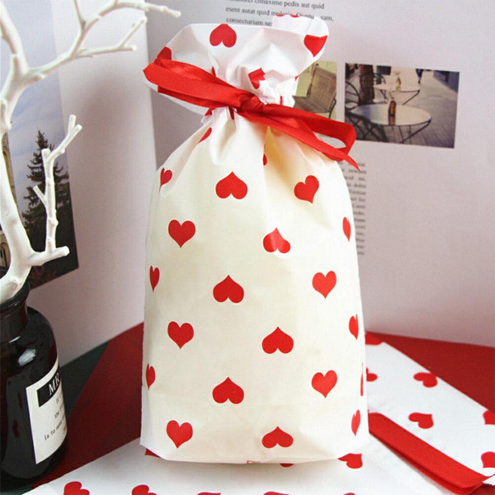 滿滿的愛心拉繩糖果袋 禮物袋 包裝袋【BlueCat】【JI2338】 2