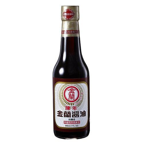 金蘭 陳年醬油(純釀造) 500ml