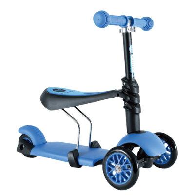 §Y Volution Glider平衡滑板車三合一款(藍色)