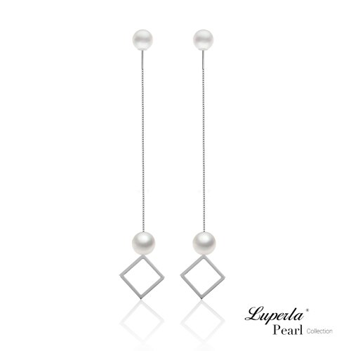 大東山珠寶 燦爛光芒 日本AKOYA天然海水珍珠純銀耳環 雙珠耳線兩用款 1