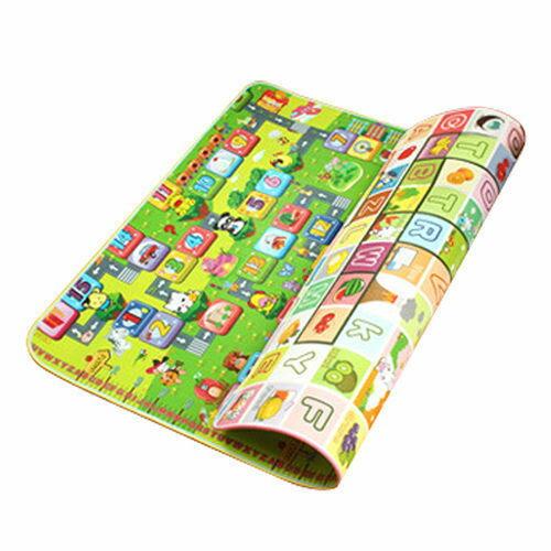 野餐 寶寶遊戲爬行墊 5mm厚度雙面加厚遊戲墊~AE09018~ i~Style居家