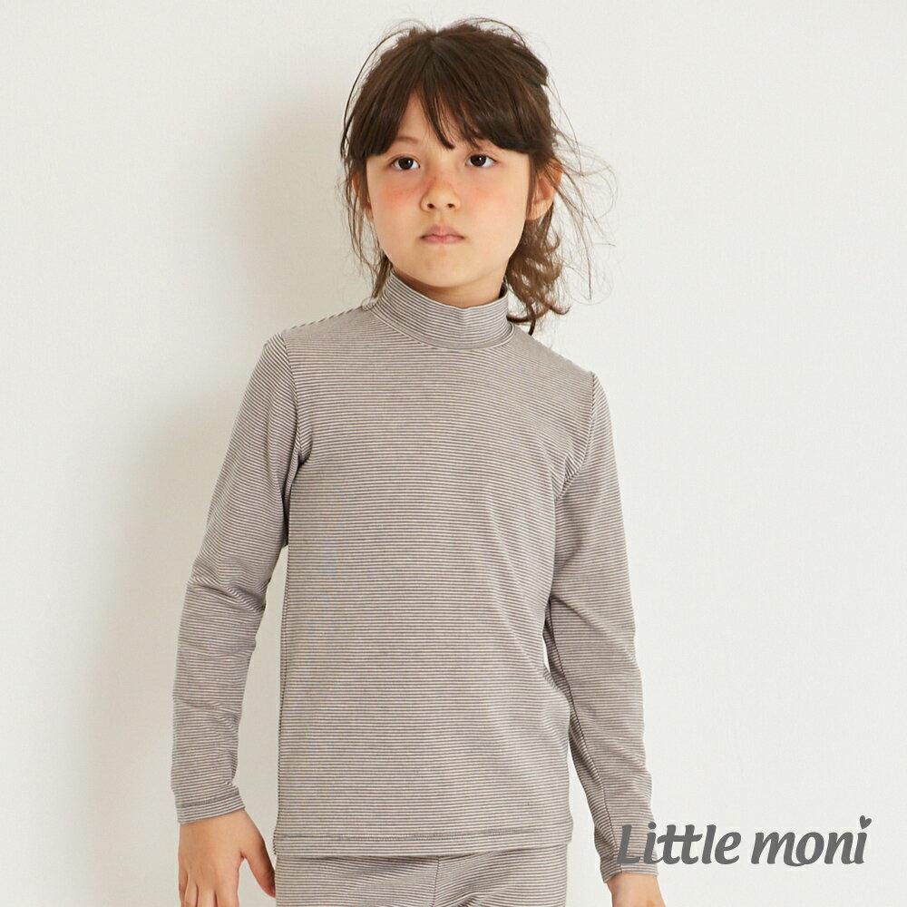 Little moni 發熱紗高領上衣-灰色(好窩生活節) 1
