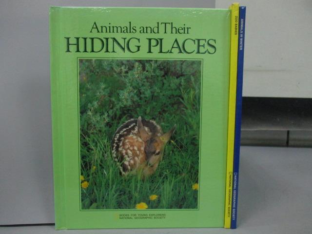 【書寶 書T3/少年童書_QHS】Animals in Winter_Zoo Babies