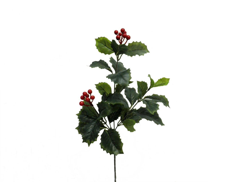 ★超低價★23吋 紅果冬青葉 / 人造花 空間 景觀 佈置 造景