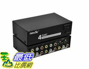 [106玉山最低比價網] 1進4出(一進四出) AV分配器 AV-104 非PX大通
